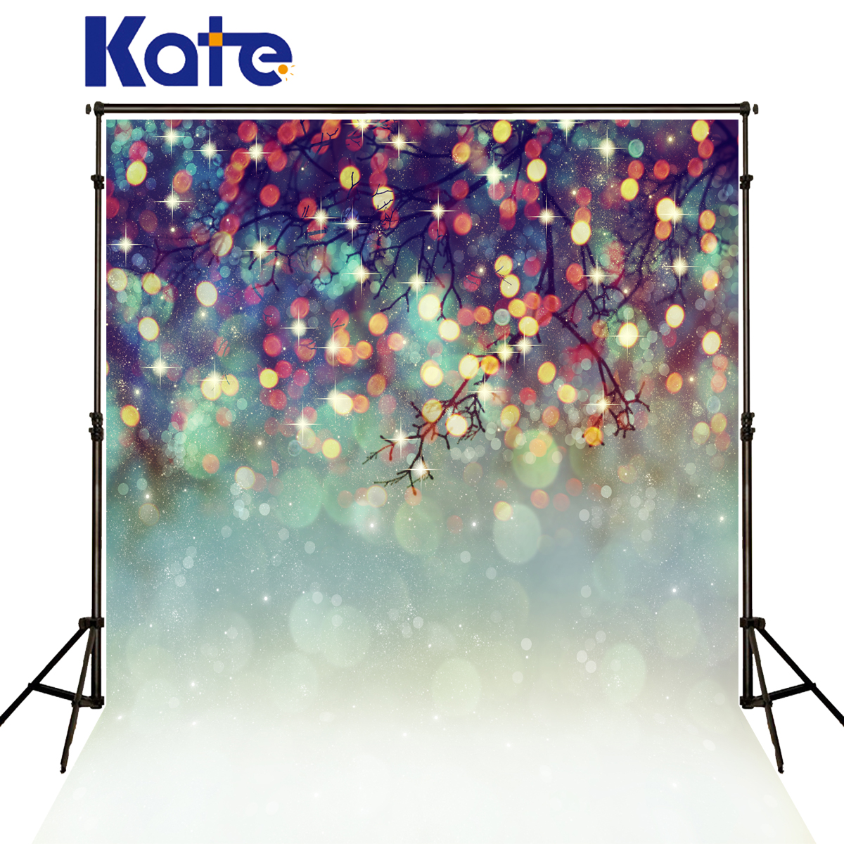 Kate Christmas  Backdrops Photography Spot Colour Branch Fond Photo noel Background Dream Tree Fundo Fotografico arvore de Natal blue sky white clouds beach coconut tree backdrops fotografia fundo fotografico natal background photograph