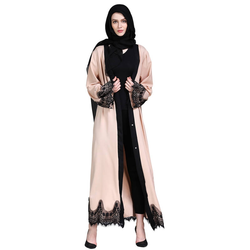 Fashion Abaya Cardigan Islamic Clothing