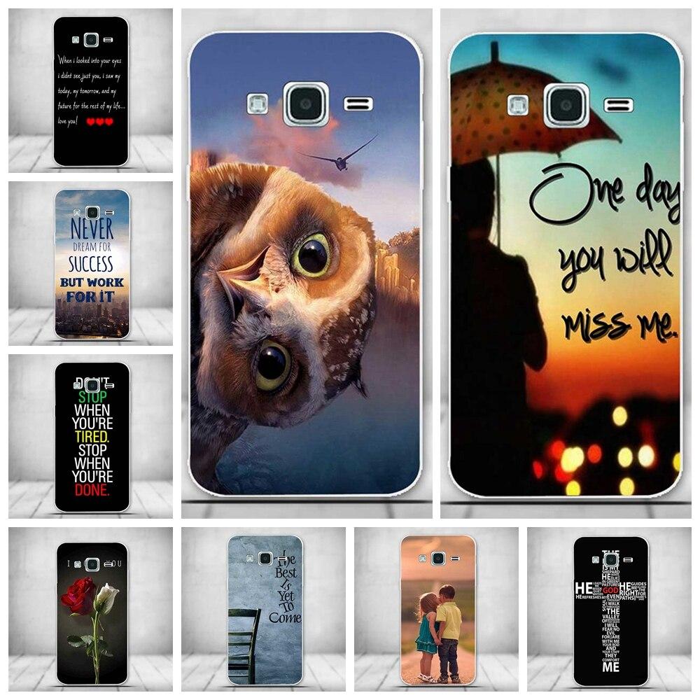 Galleria fotografica For Samsung Galaxy J3 Case J320 J320F J320H Rubber Cover Soft Silicone Phone Case For Samsung Galaxy J3 2016 Case J3109 J3000