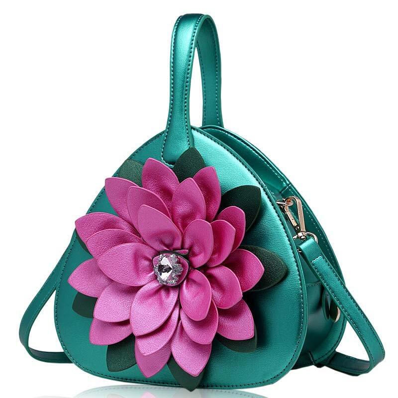 Woman Handbag Small Bag Ladies Hand Bags Small Bags For Women Sling Bag Fashion Handbags 2017 Diamond Flower Handbag Heart Shape aidocrystal heart shape factory direct sell fashion woman diamond clutch for lady