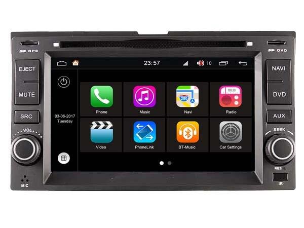 S190 Android 7 1 CAR DVD player FOR KIA CERATO SPORTAGE SORENTO SPECTRA car audio stereo