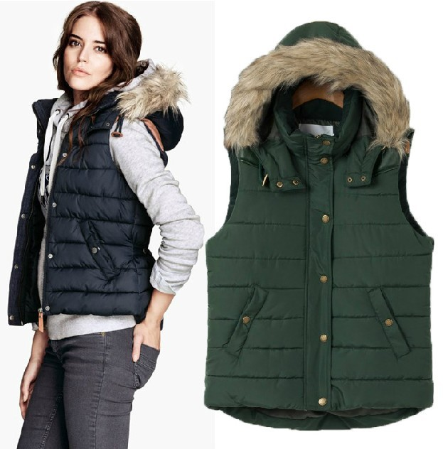 European Brand Fur Hood Leather Shoulder Patch Thick ...