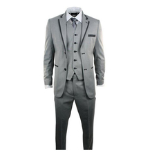FOLOBE Ternos Masculino Custom Made Grey Men Slim Fits Suits Tuxedos Grooms Suits Wedding Suits Formal