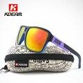 Kdeam UV400 Esporte óculos de Sol Dragão Óculos Das Mulheres Dos Homens Da Marca Cor-mistura Fácil Transporte Óculos De Sol occhiali da sole Com Amendoim caixa