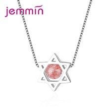 22ffa70d2cac JEMMIN moda encanto COLLAR COLGANTE estrella 925 Popular aniversario del  compromiso de las mujeres joyería mejor regalo