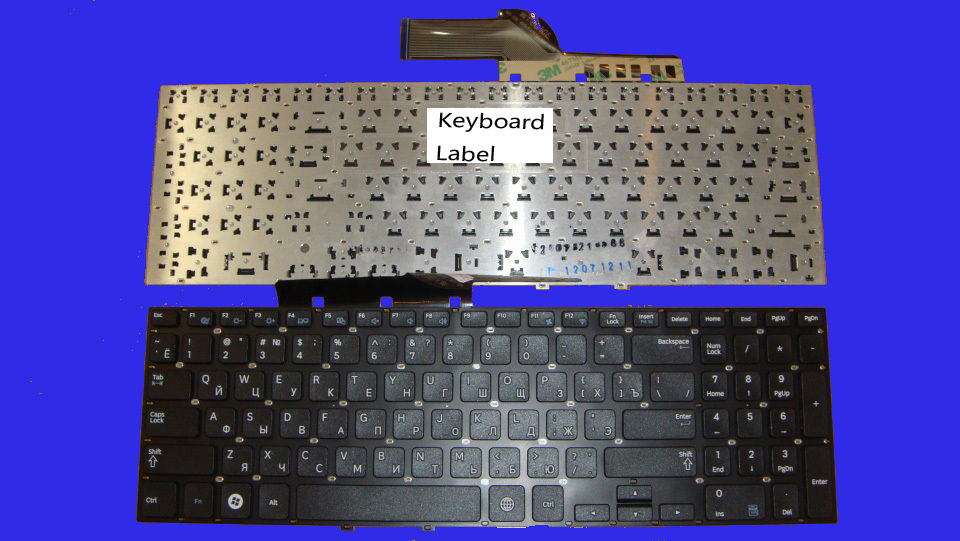 New Laptop keyboard for SAMSUNG NP300E5E 300E5E NP350E5C 350E5C 355E5 RU  layout new laptop keyboard for samsung np900x3a 900x3a ru russian layout