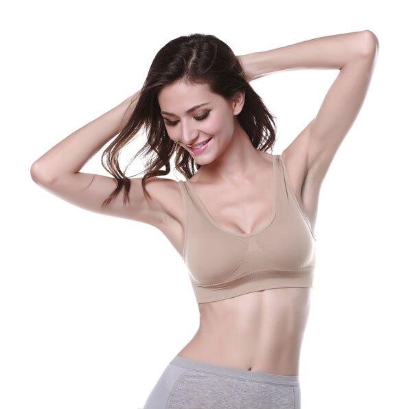 8dbc5fe30d bras for women sport bra girls white black skin color push up brassiere  casual seamless tops for ladies 2015 hot sale bralette