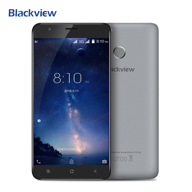 Blackview E7S Mobile Phone 5 5 inch 1280x720 IPS HD MTK6580A Quad Core Android 6 0