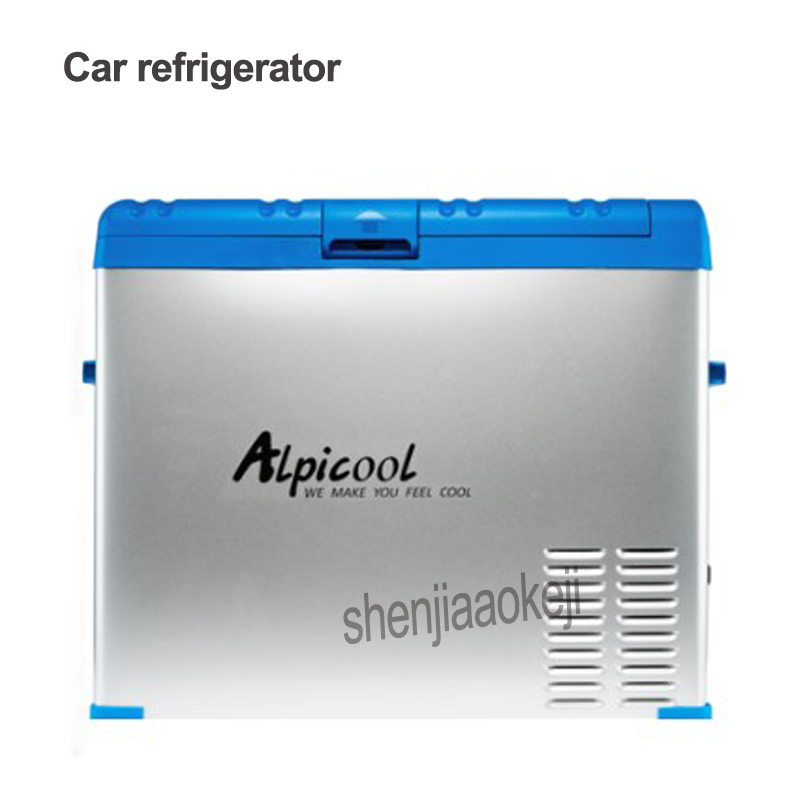 Portable 50L Car/Household Refrigerator Freezer Mini Fridge Compressor Cooler Box Insulin Ice Chamber Depth Refrigeration 45w