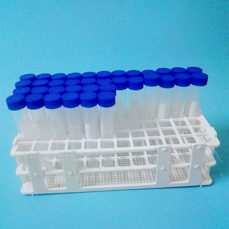 15 Ml Centrifuge Tubes 60 Pcs +  Plastic Tube Rack 1pcs ,Free Shipping