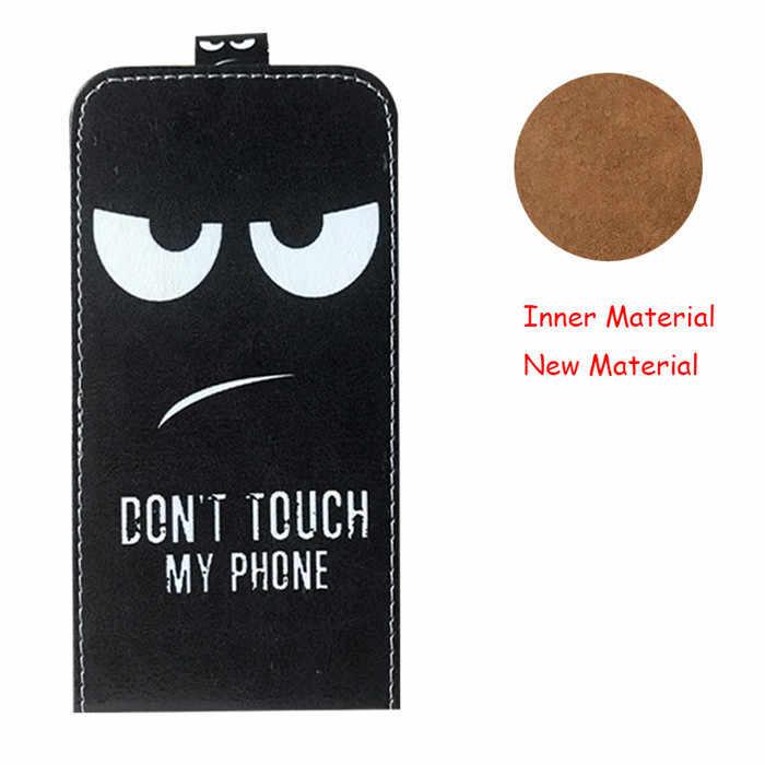 """Для Vertex Impress Click NFC чехол новейший мультфильм PU кожаный флип чехол для Vertex Impress нажмите NFC задняя крышка 5,0 """"чехол для телефона"""