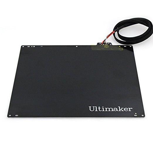 3D printer parts UM2 3D Printer Ultimaker2 Exclusive Aluminum Heatbed + imported PT100+ Heating Bed Cable3D printer parts UM2 3D Printer Ultimaker2 Exclusive Aluminum Heatbed + imported PT100+ Heating Bed Cable
