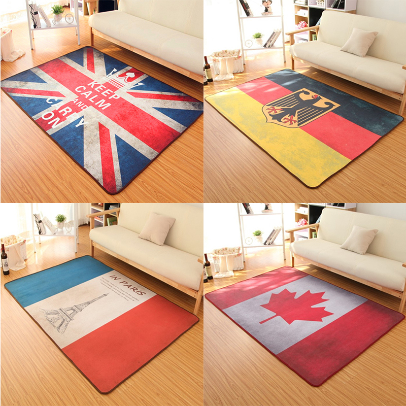 Quality Assured Union Jack Design Carpet Canadian Flag