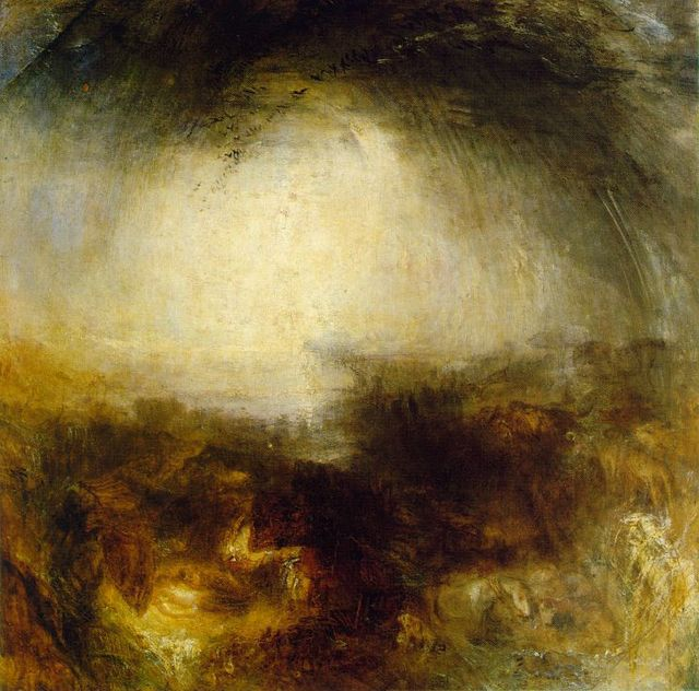 100% hand-painted oil painting reproduction old master Turner canvas  landscape painting Shade-
