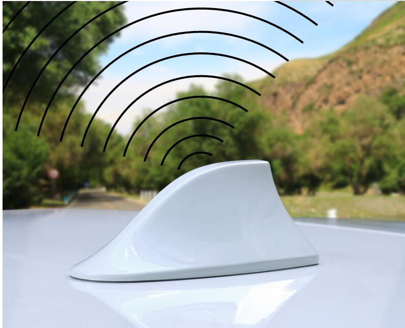 Car Antenna Antena FM Antenna Covers For Nissan Antenne Voiture Shark Fin Roof Radio Aerial For Nissan X-Trail 2017