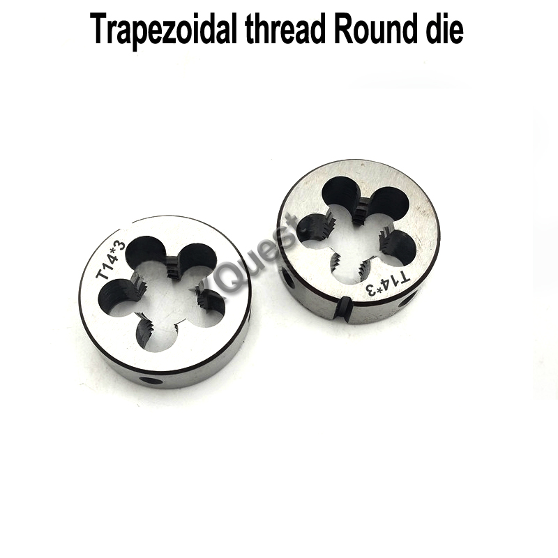 XQuest Right Hand Trapezoidal Thread Round Die Tr8 Tr10 Tr12 Tr14 Tr16 Left Hand Trapezoid Dies Tr18 Tr22 Tr24 Tr25 Tr26