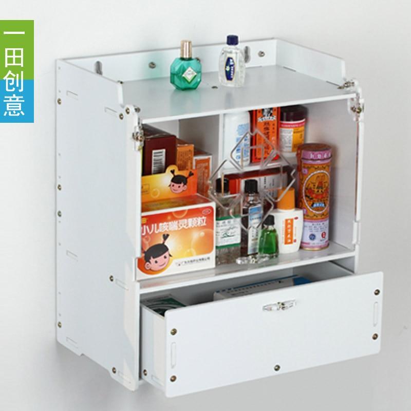 Drawer Type Storage Box Creative Family Medicine Kti Medical Box Hanging  Storage Box(China)