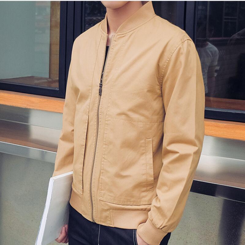 Stylish Winter Jackets Men 2017 Styles Men Jacket Mandarin Collar Cotton  Zipper Business Casual Cozy Coats And Jackets ffac2a9e7