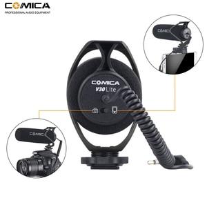 Image 2 - Микрофон для камеры Comica CVM V30 Lite, микрофон для записи видео на телефоне для камеры Canon Nikon Sony Fuji DSLR s, микрофон для смартфона