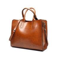 Tagdot Brand Large Tote Bags PU Leather Fashion Shoulder Messenger Bag Women Leather Handbag Bags For