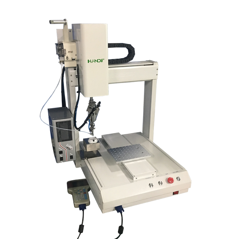 Apollo Automatic PCB Soldering Machine, 4 Axis Automatic Soldering Robot
