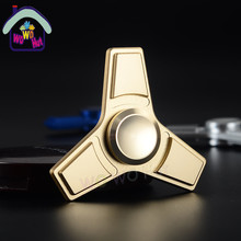 Spinner Hand Fidget metal toy 2017 New EDC Zinc alloy fidget powerful hand finger spinner Fun relieves stress focus gift toy