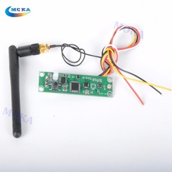 3 pcs/lot Wireless DMX512 2.4G Led Stage Light PCB Modules Board LED Controller Transmitter Receiver with Antenna