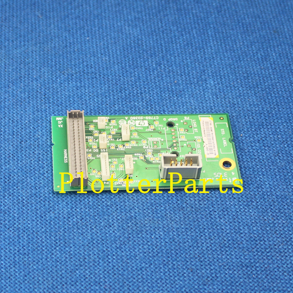 C7769-60385 Interconnect PC board for the HP DesignJet 500 510 800 plotter part Original used