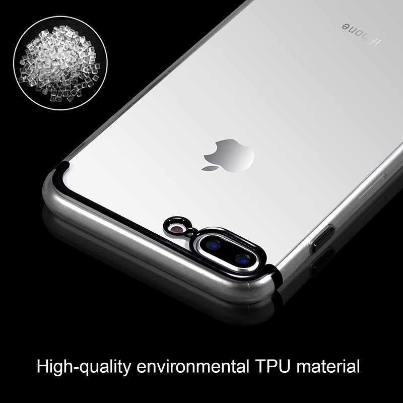 Покрытие чехол для сотового телефона для iphone 6 S 6 S iphone 7 iphone 8 Plus iphone X 10 для iphone 8 iphone X Силиконовый мягкий прозрачный тонкий Чехол