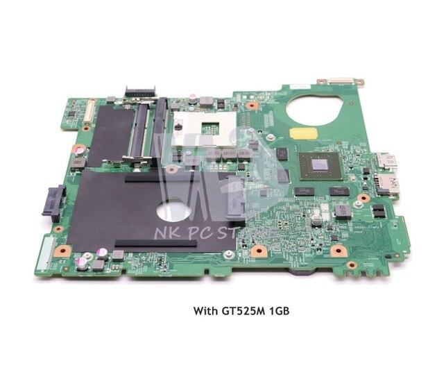 NOKOTION CN-0J2WW8 0J2WW8 CHÍNH BAN Đối Với Dell inspiron N5110 Máy Tính Xách Tay Bo Mạch Chủ HM67 DDR3 GT525M 1 gb