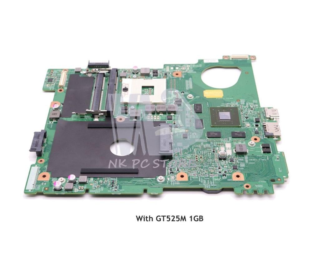 NOKOTION CN-0J2WW8 0J2WW8 N5110 Laptop Motherboard PRINCIPAL BOARD Para Dell inspiron HM67 DDR3 GT525M 1 gb