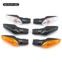 For DUCATI Monster 695 696 796 821 1100/S/EVO 1200 Motorcycle Front/Rear Turn Signal Indicator Light Blinker Lamp Clear