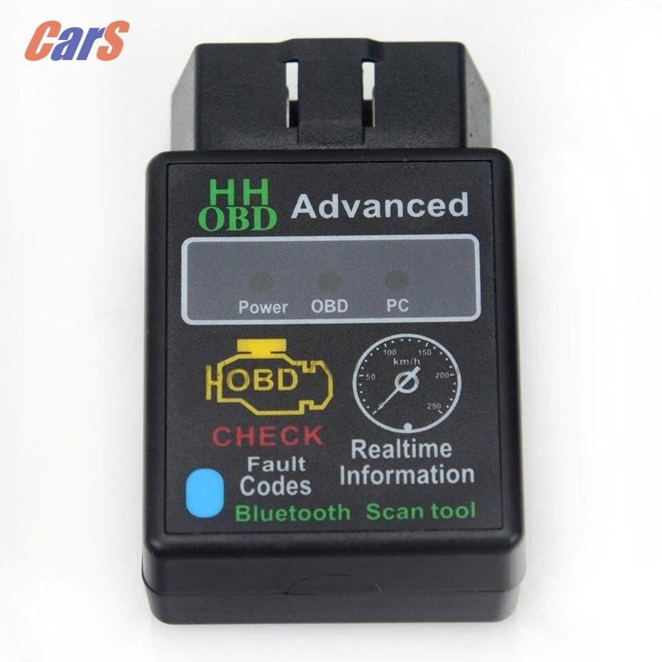 Prix pour Bluetooth V2.1 Voiture Auto Outil De Diagnostic ELM327 OBD2 OBD II Car Auto Diagnostic Scanner Adaptateur Connecteur Outil D'analyse