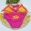 Девушки бикини детские купальники дети девушки купальники бикини установить купальники купальник дешевые китая одежда для SW097