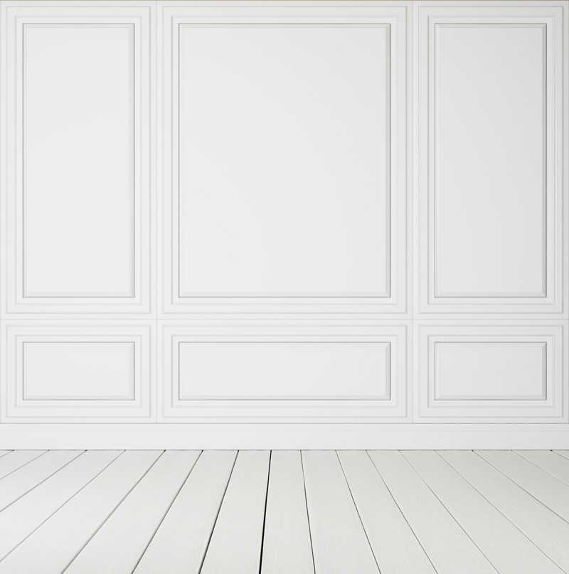 HUAYI toile de fond personnalisée pour la photographie mur de sol en bois blanc pur studio matériau Durable fond design XT-3602