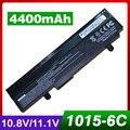 4400 mah batería del ordenador portátil negro para asus lamborghini eee pc vx6s vx6 1011 1015 1016 1215 r051 r011