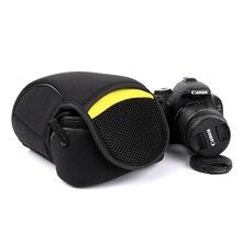 DSLR Камера внутренняя мягкая сумка для Nikon D7500 D7200 D7100 D7000 D90 D80 D600 D750D 3400 D3200 D3300 D5100 D5600 D5500 D5300