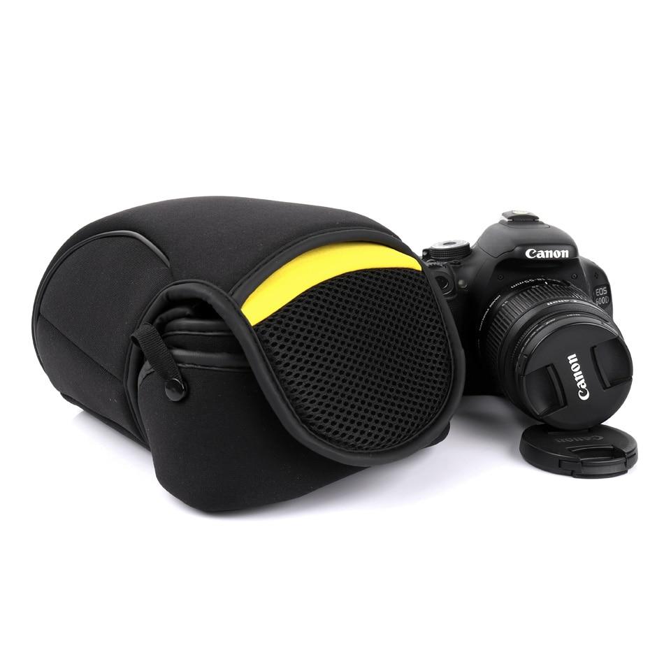 DSLR cámara interior suave bolsa para Nikon D7500 D7200 D7100 D7000 D90 D80 D600 D750D 3400 D3200 D3300 D5100 d5600 D5500 D5300