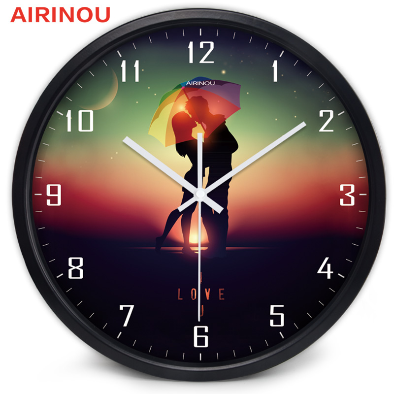 Perfect Airinou 10 12 14 Inches Love Theme Series Brand Newly Married Wall Clock  Valentineu0027s Day In Wall Clocks From Home U0026 Garden On Aliexpress.com |  Alibaba Group Gallery