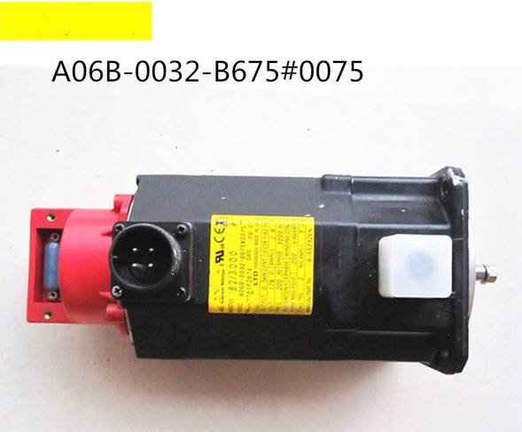 Used 100% Tested A06b-0032-b675#0075 Fanuc A06b-0032-b675#0075 Ac Servo Motor A06b-0032-b675#0075 A06b-0032-b675 Good For Energy And The Spleen Back To Search Resultselectronic Components & Supplies