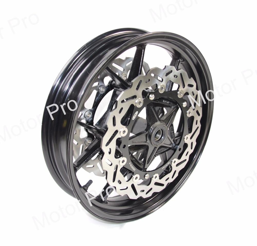 For Bmw S1000RR 2009 - 2015 Front Wheel Rim Brake Disc Disk Rotor CNC Aluminum Black S1000 S 1000 RR 2010 2011 2012 2013 2014 hot sales for bmw s1000rr fairing s1000 rr s 1000rr s1000 rr 2010 2014 red black white bodywork fairings kit injection molding
