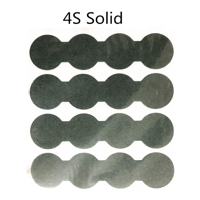 1PCS  4S Barley paper For 18650 lithium battery insulation gasket battery hollow solid gasket with adhesive