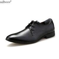 נעלי עור עסקי mens פורמליות סגנון הקלאסי שחור חום צבע לבן שמלת נעלי עור רך משרד ניו גברים של אדם דרבי