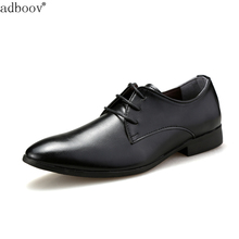 formal classic style mens business leather shoes black brown white color man s office soft leather
