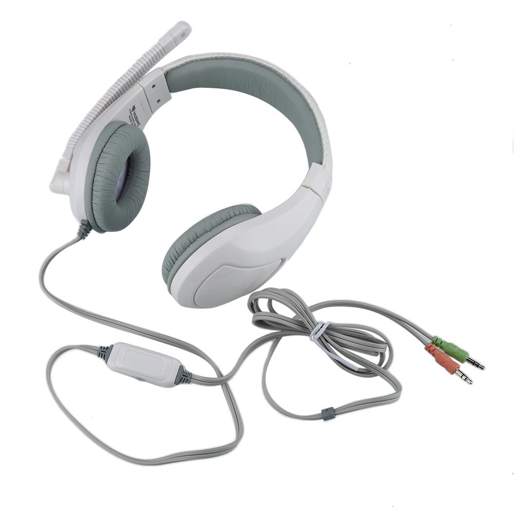 Professional Gaming Headset with Microphone Internet Bar Cafe Headphone for Computer Gamer Supper Bass Earphone Wholesale