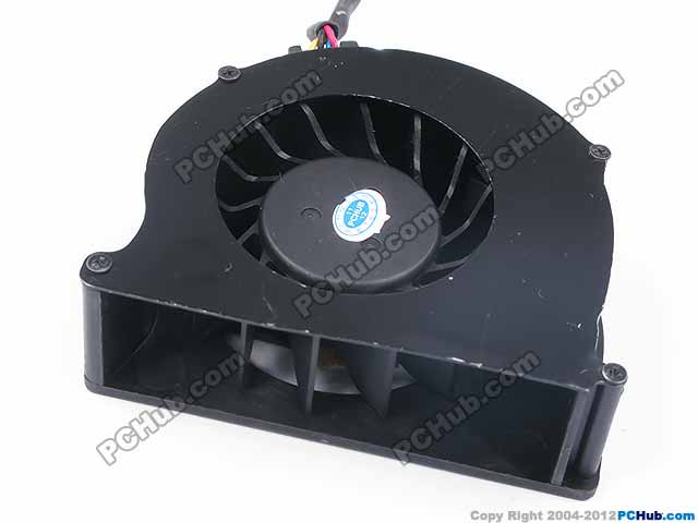 Emacro For Magic MBT5005HF-W20 Server Cooling Fan DC 5V 0.50A 3-wire free shipping for nmb bg1203 b058 p00 l2 dc 24v 1 30a 3 wire 3 pin connector 50mm 120x120x32mm server blower cooling fan