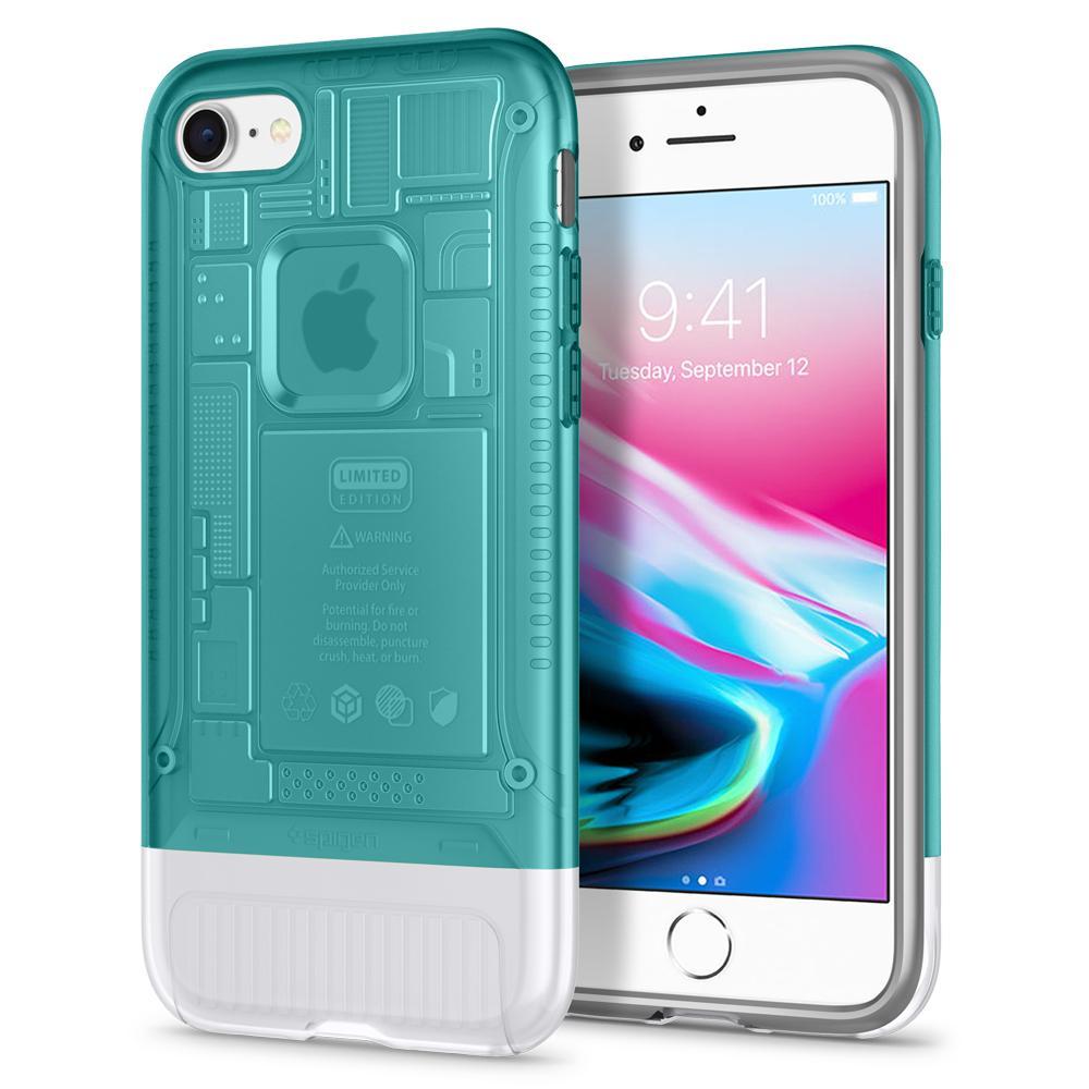 100% Original SPIGEN Classic C1 [10th Anniversary Limited Edition] Cases for iPhone 8 / iPhone 7 spigen iphone 8 plus case