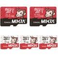 Mixza mono edición tarjeta de memoria de 8 GB 16 GB 32 GB 64 GB 128 GB tarjeta micro sd class10 de tarjeta de memoria flash microsd para el smartphone