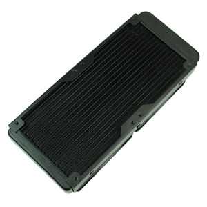 Image 4 - G1/4 240mm 2 Fans Radiator Computer Desktop Water Cooling Aluminum Thick 60mm  Drop Shipping