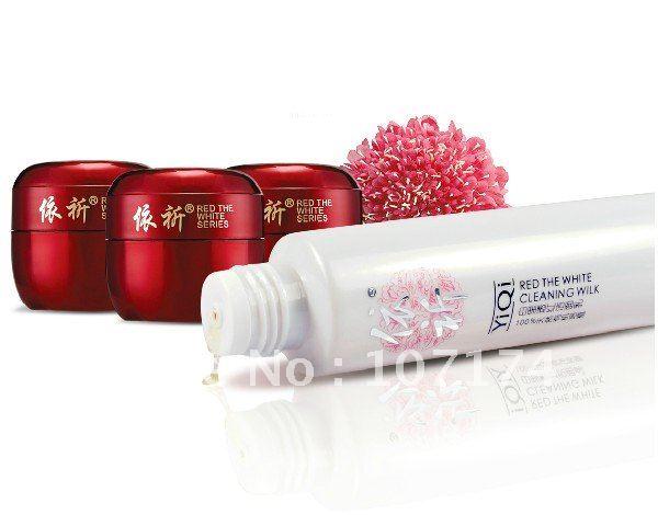 Продукт пакет YiQi Баи ли тоу красный отбеливающий морозный крем для женщин
